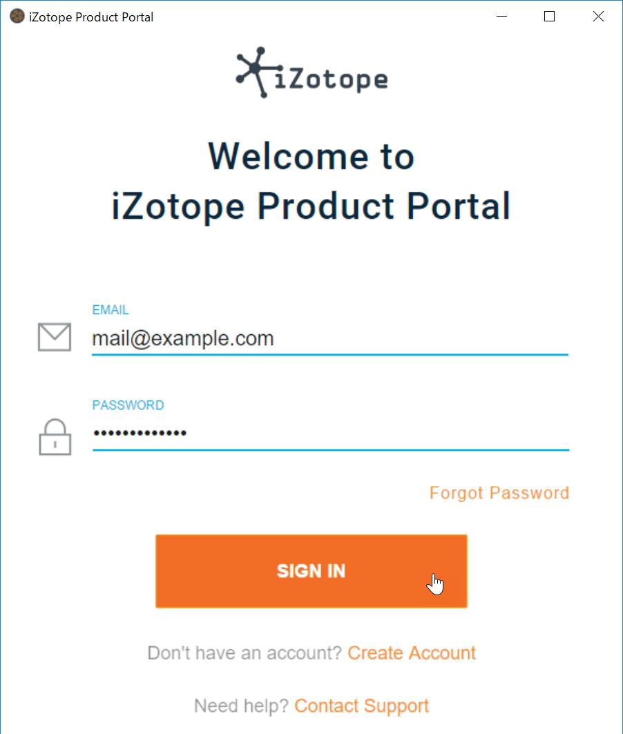 Download Izotope Portal