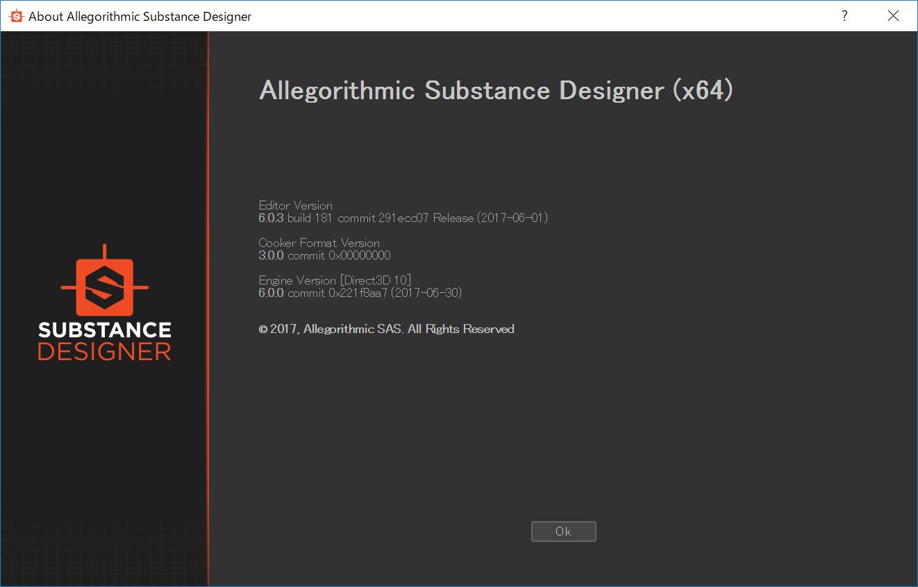 Substance Designer 6.0.3