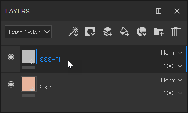 Rename fill layer