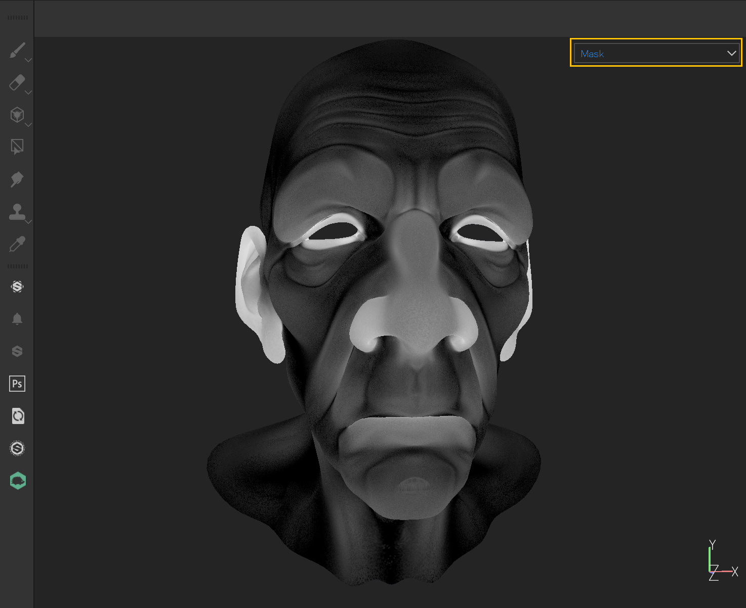 Mask preview
