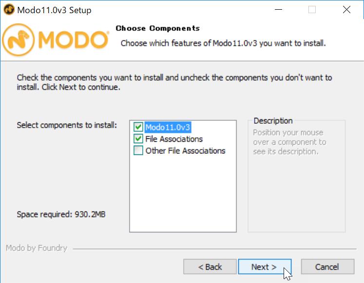 Install MODO 11.0v3