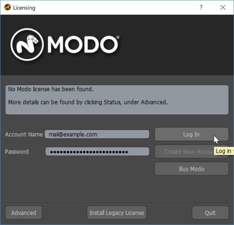 Regist MODO 11.0v3