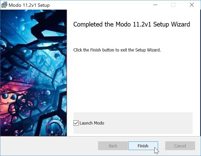 MODO 11.2v1 Setup
