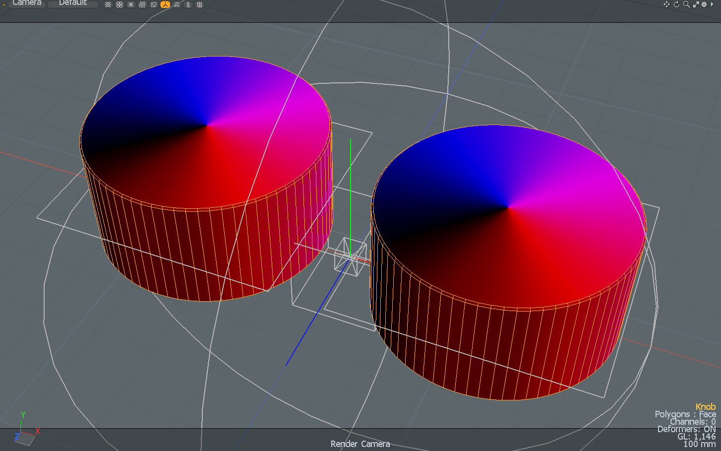 Anisotropy direction map preview