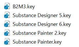 Substance License Key