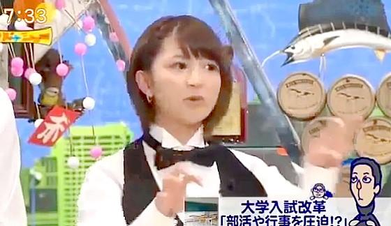 ワイドナショー画像 矢口真里「勉強は好きだったが普通高校だったので通えなくなった」 2015年1月1日