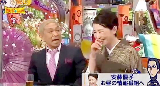 ワイドナショー画像 安藤優子が松本人志に直接出演交渉 2015年1月1日