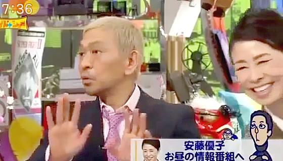 ワイドナショー画像 松本人志「安藤優子と宮根誠司が並んでいた選挙特番ではなにか画面に出ていた」 2015年1月1日