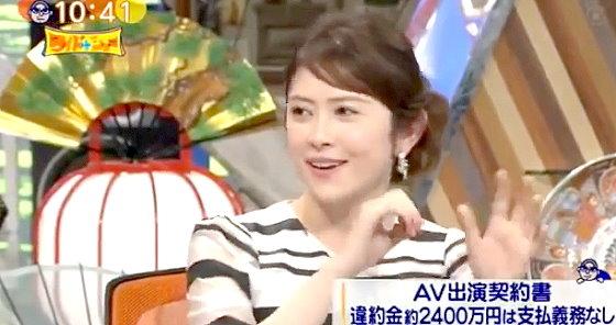 ワイドナショー画像 宮澤エマ「芸能界はどうすれば成功するかのレールが敷かれてないから流されやすく怖い」 2015年10月4日
