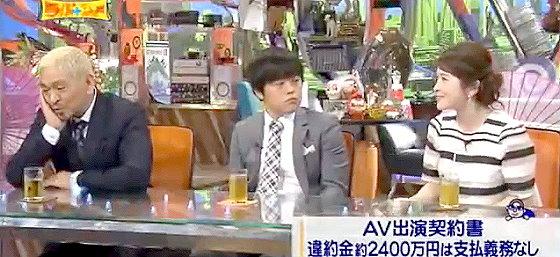 ワイドナショー画像 松本人志 バカリズム 宮澤エマ「事務所入る時みんな契約しないんですか?」 2015年10月4日