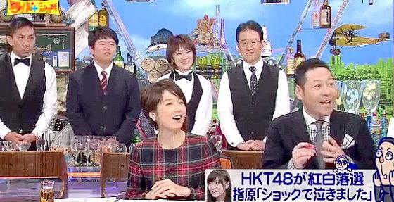 ワイドナショー画像 東野幸治が指原莉乃に「HKT48として出たいのでAKB48として出るのは辞退しては」と提案 2015年12月20日