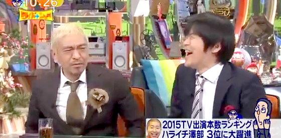 ワイドナショー画像 松本人志 バカリズム「スベったのが振りになってて切れなかったのは辛い」 2015年12月20日