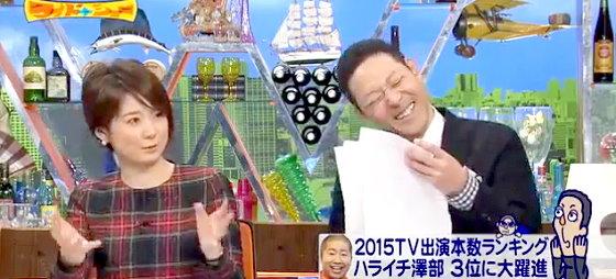 ワイドナショー画像 一歩上を目指す指原莉乃に秋元優里アナウンサーが質問。首を傾げる東野幸治 2015年12月20日