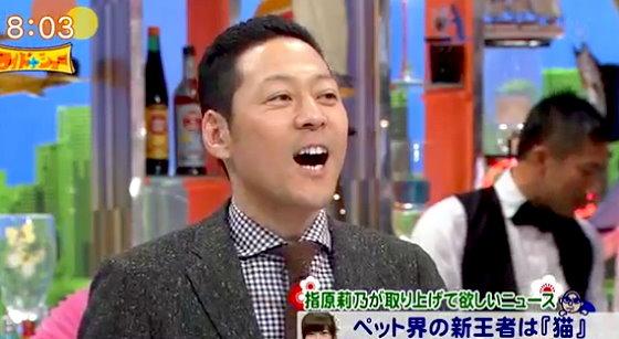 ワイドナショー画像 2016元旦SP 指原莉乃の猫ニュースに東野幸治「箸休めのニュース」 2016年1月1日