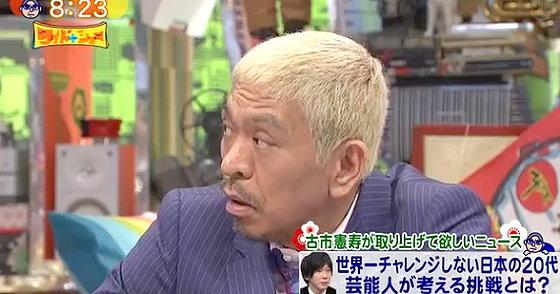 ワイドナショー画像 松本人志が前園真聖のサッカー教育の国による違いの解説に同意 2016年1月1日