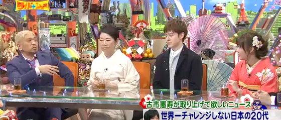 ワイドナショー画像 松本人志 安藤優子 ウエンツ瑛士 指原莉乃 2016年1月1日