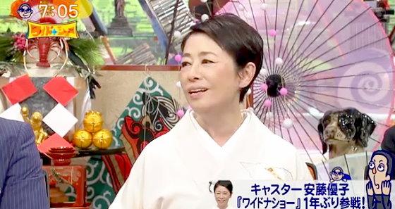 ワイドナショー画像 安藤優子「言えないことが溜まってる」に松本人志「高橋克実さんにですか?」 2016年1月1日