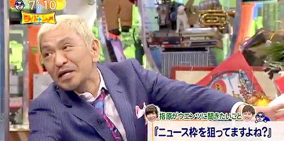 ワイドナショー画像 松本人志 指原莉乃がウエンツ瑛士のことをバカ枠扱いしたことをツッコむ 2016年1月1日