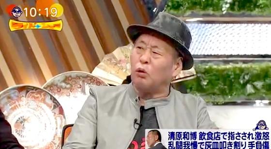 ワイドナショー画像 指をさした客に怒りを覚えた清原和博に泉谷しげるが「当然です。よくやった」 2016年1月24日