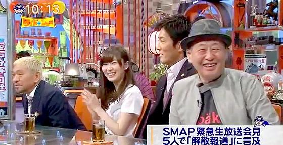 ワイドナショー画像 泉谷しげる「SMAPの解散騒動はもはや社会現象。いつまでもあると思うな人気と仕事」 2016年1月24日