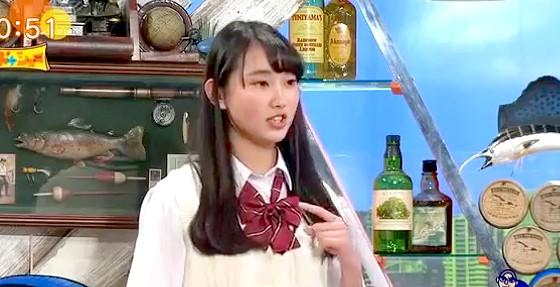 ワイドナショー画像 ワイドナ現役高校生・青木珠菜の高校はアニメの舞台になっているため観光客が勝手に入って来る。 2016年1月24日