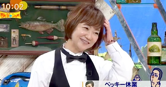 ワイドナショー画像 長谷川まさ子「ベッキーのLINEが思い出されてどうしても擁護できない」 2016年1月31日