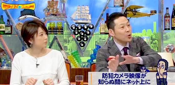 ワイドナショー画像 秋元優里アナ 東野幸治 パスワード未設定の監視カメラがネット流出のニュースを説明 2016年1月31日