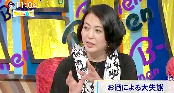 ワイドナショー画像 杉田かおる「酔って彼氏と違う人に乳もめ!と強要した」 2016年2月7日