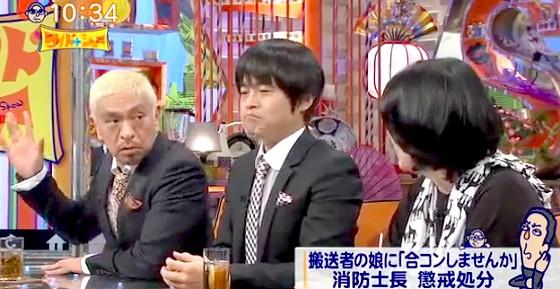 ワイドナショー画像 合コンに誘った消防士に松本人志「自信もあったんだろう」 2016年2月7日