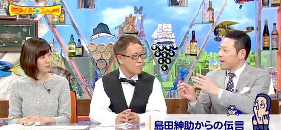 ワイドナショー画像 井上公造が島田紳助へ石坂浩二の降板劇についての感想を電話で聞く 2016年2月7日