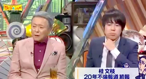 ワイドナショー画像 小倉智昭が桂文枝の記者会見で笑いがなかったことに「らしくない」 2016年2月28日