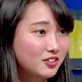ワイドナショー画像 ワイドナ女子高生 青木珠菜 松本人志とのトークで緊張のあまり泣いてしまう 2016年2月28日