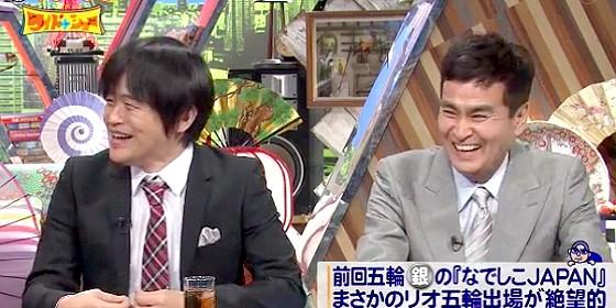 ワイドナショー画像 サッカーについて語る東野幸治に強く相槌を打つバカリズムが「知ったかしてました」 2016年3月6日
