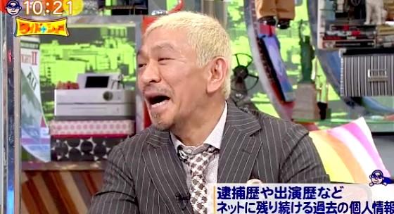 ワイドナショー画像 松本人志「女優の昔の画像を見ようと思ったら見られなかった」 2016年3月6日