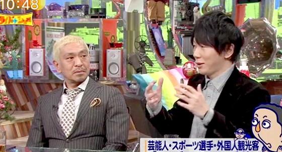 ワイドナショー画像 古市憲寿「タトゥーが怖いなら金髪でマッチョでいかつい目の松本だって怖い」 2016年3月6日