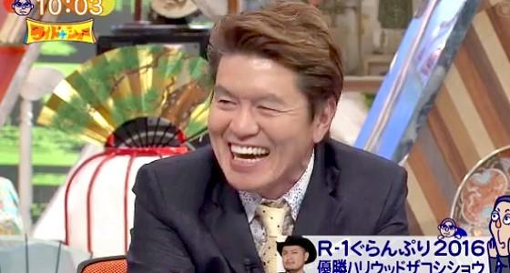 ワイドナショー画像 ヒロミ「今年のR-1ぐらんぷりはキャラ勝負という雰囲気の現場だった」 2016年3月20日