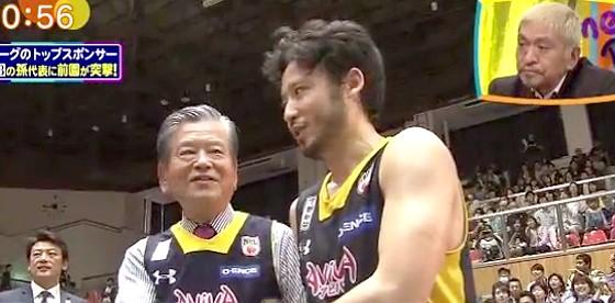 ワイドナショー画像 川淵三郎 田臥勇太 バスケットボールの1リーグ化に成功 2016年3月20日