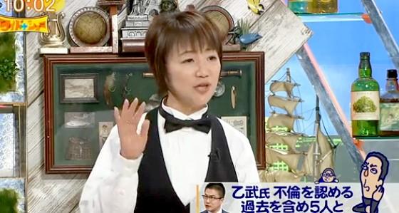 ワイドナショー画像 長谷川まさ子が乙武洋匡の不倫問題について解説 2016年3月27日
