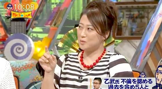 ワイドナショー画像 友近「乙武洋匡さんと奥さんの不倫表明は子どもたちにとって辛い」 2016年3月27日