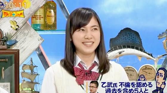 ワイドナショー画像 ワイドナ現役高校生 杉山セリナが乙武洋匡の魅力を語る 2016年3月27日