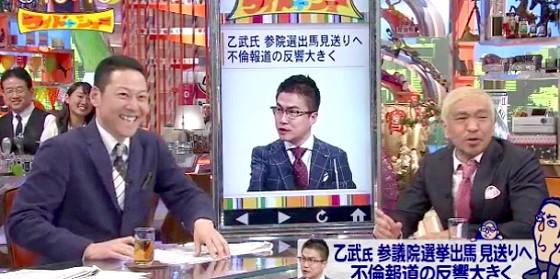 ワイドナショー画像 松本人志に冗談のメールを送った乙武洋匡に「彼の最後のカラ元気だから悪く言わないであげて」 2016年4月3日