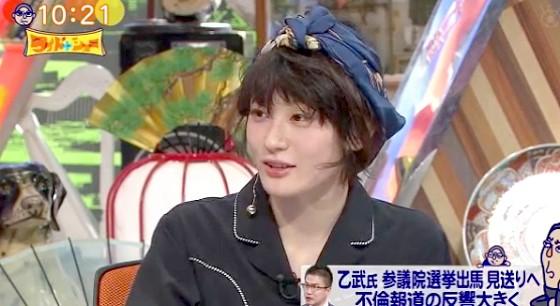 ワイドナショー画像 水曜日のカンパネラ コムアイ「政治家としての乙武さんを見たかったのに残念」 2016年4月3日