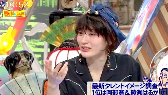 ワイドナショー画像 水曜日のカンパネラ コムアイがタレントイメージランキングに「ほんとどうでもいい」 2016年4月3日
