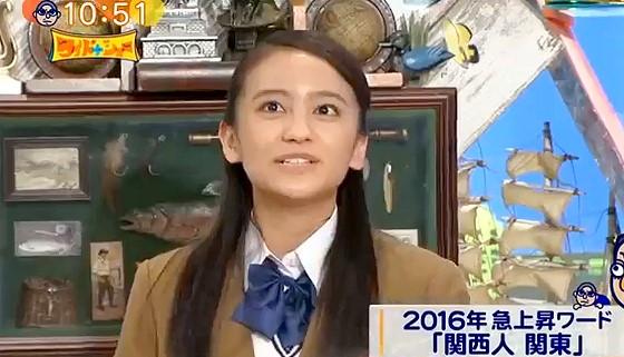 ワイドナショー画像 岡田結実の母は元お笑いの-4℃で家ではオチ担当 2016年4月10日