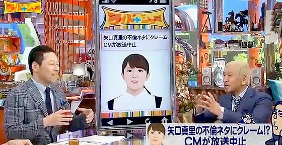 ワイドナショー画像 東野幸治 松本人志「不倫叩きはレギュラーメンバーがいていろんなターゲットを探しては叩いてる」 2016年4月10日