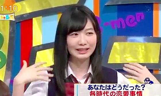 ワイドナショー画像 ワイドナ女子高生の岡本夏美が彼氏のダボダボのジャージを彼女が着る恋愛あるあるを紹介 2016年5月1日