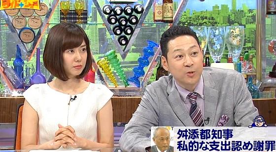 ワイドナショー画像 石原良純の「政治家のあまり細かいミスをあげつらうと政治が止まる」に東野幸治が反論 2016年5月15日