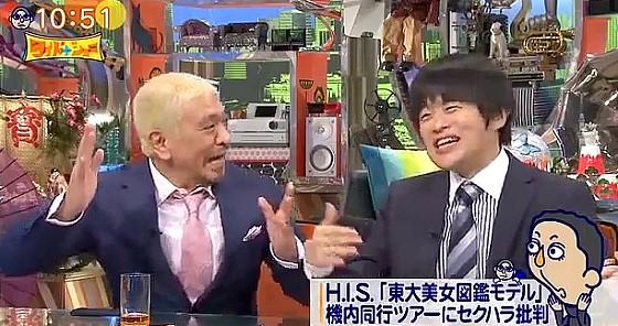 ワイドナショー画像 やたら「鼠蹊部」を言いたがる松本人志 2016年5月22日