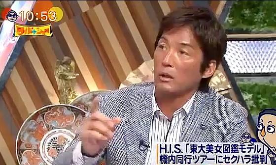 ワイドナショー画像 長嶋一茂が東大美女図鑑の女子大生同行ツアーに関してセクハラ発言 2016年5月22日