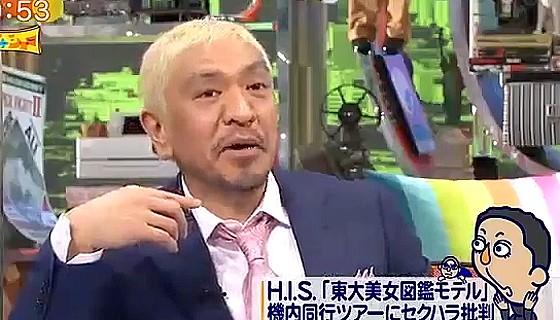 ワイドナショー画像 松本人志が長嶋一茂のセクハラ発言をツッコむ 2016年5月22日